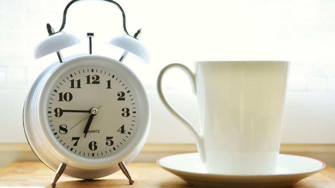 Alarm Clock and Coffee